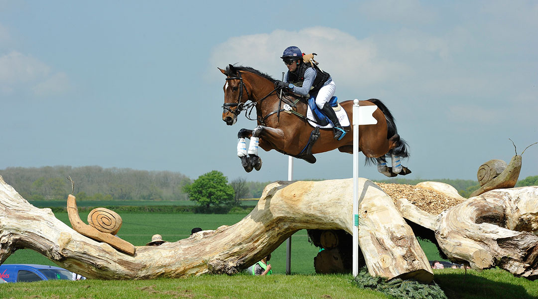 Ben Hobday defying gravity atBadminton with Mulry's Error