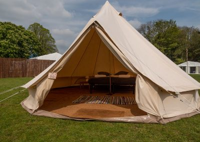 Luxury glamping at the Badminton Retreat