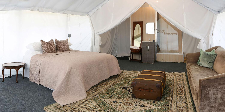 En-suite Safari Tent at Badminton Retreat